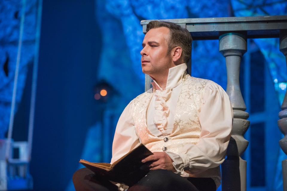 Marcin Bronikowski. Baritone. Evgeni Onegin
