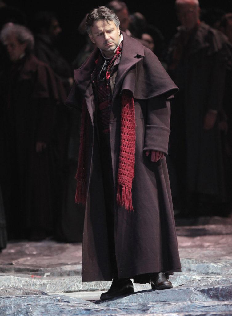 Marcin Bronikowski. Baritone. Lucia di Lammermoor – Enrico