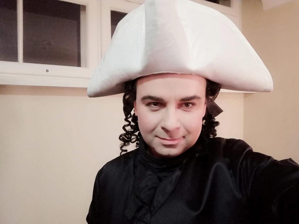 Marcin Bronikowski. Baritone. Don Giovanni